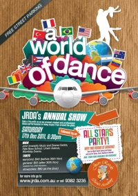 JRDA Annual Show - A World of Dance 2011